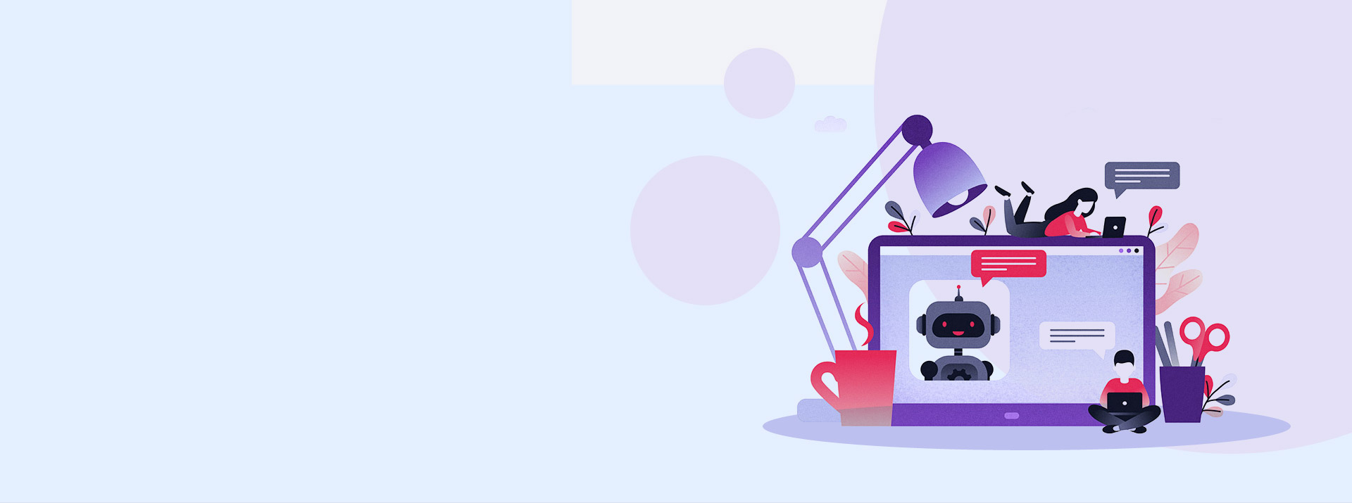 Banner image for custom ai chatbot development services