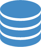Icon image for web development database