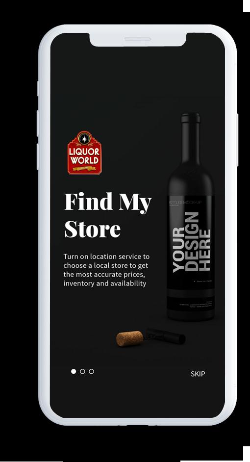 Card image for Liquor World ecommerce app