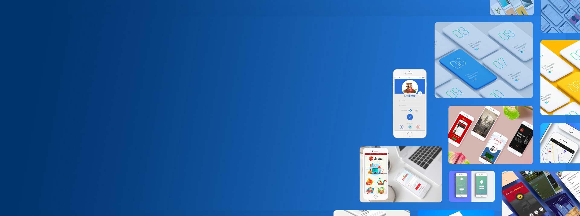 Banner image for Mobile app designs & development services