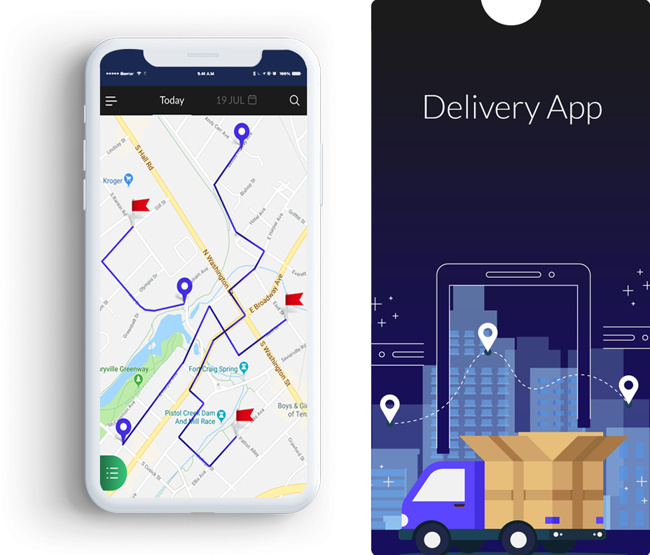 Image of Handcrafted Delivery Mobile Apps