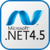Icon image of ASP.NET4.5 technology for web app development